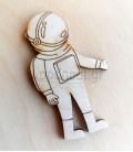 Ξύλινος αστροναύτης