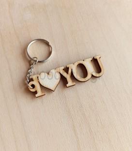 Μπρελόκ I Love You - Δώρο για τον Άγιο Βαλεντίνο