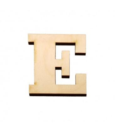 Ξύλινο Γράμμα - Αυστηρή γραμματοσειρά