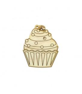 Ξύλινο Cupcake