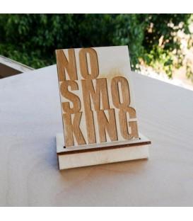 Ταμπέλα για καφετέρια No Smoking
